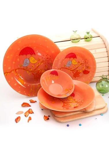 24 Parça Autumn Yemek Takımı-Joy Glass